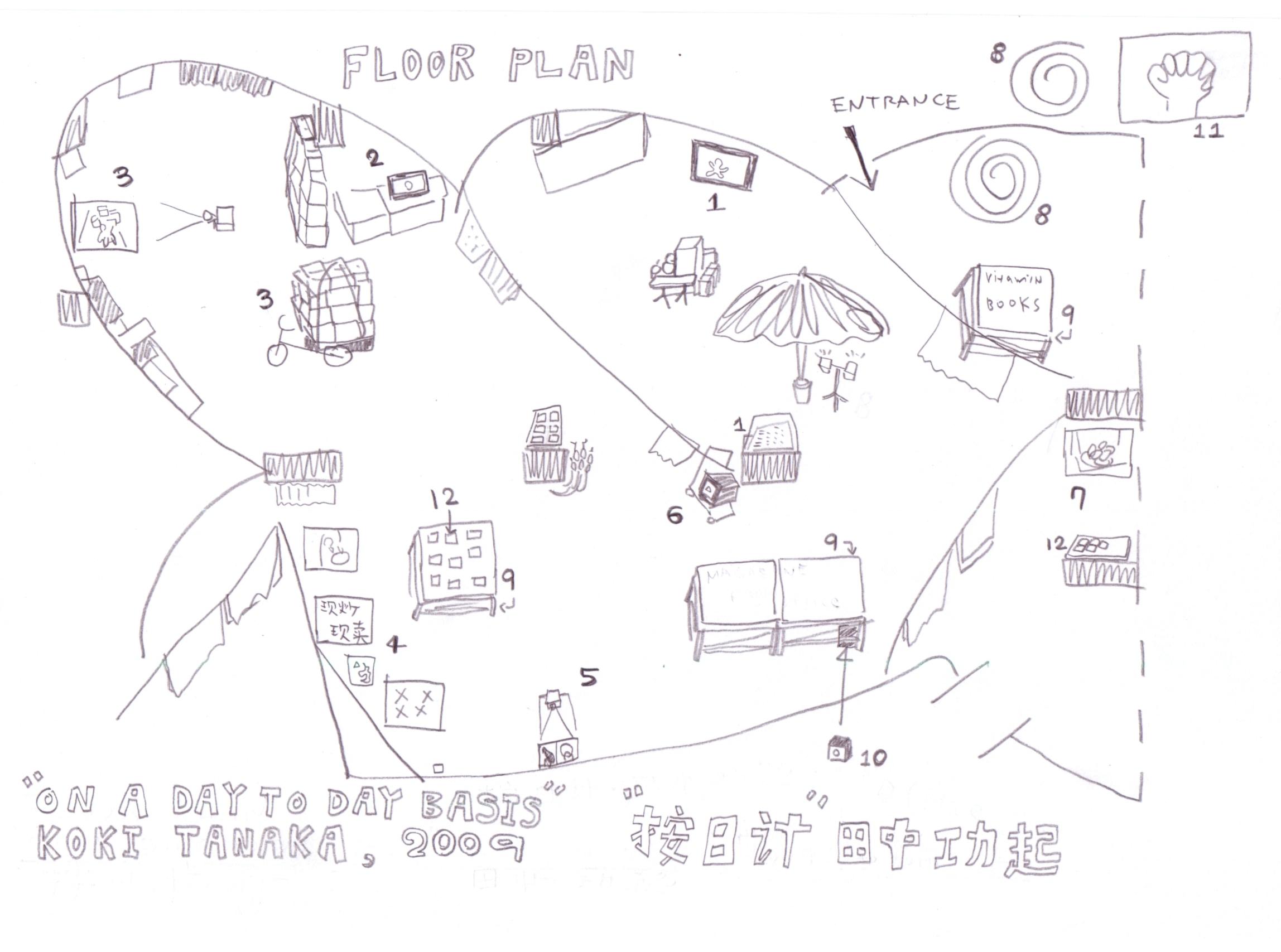 展场平面图