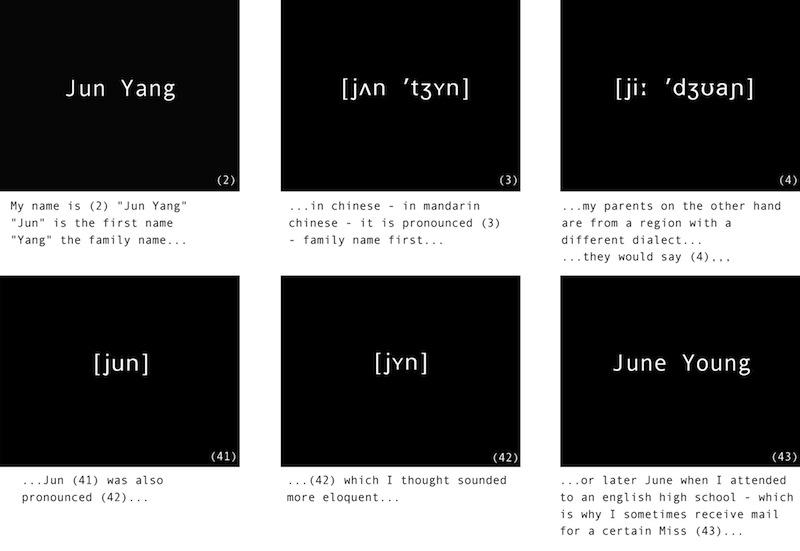 jun yang and... video stills副本