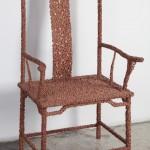 Chair Impacted by Meteorite Swarm