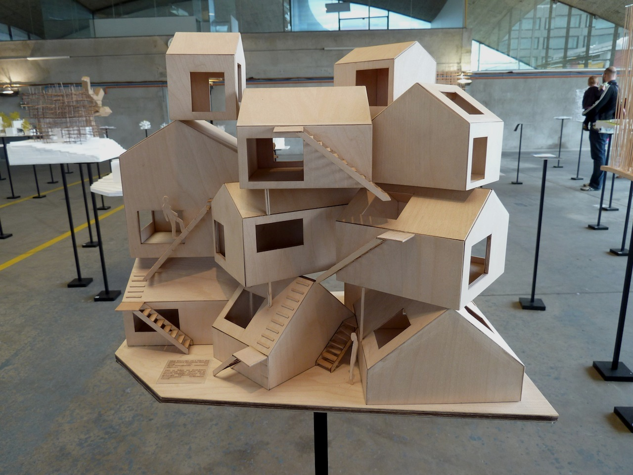 Model Of Tokyo Apartment At The Exhibition Of Sou Fujimoto: Architecture As  Forest.