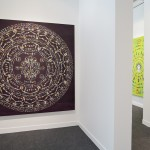"Exhibition view of ""Zheng Guogu: Dialogue of Infinite Dimensions — Mandorla"" at FIAC Paris, 2015"