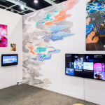 Booth view at Art Basel Hong Kong, 2017. Image: Vitamin Archive