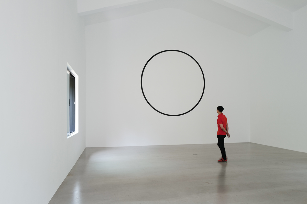 Exhibition view of Chu Yun The Mind of Things at Mirrored Gardens, Guangzhou, 2019